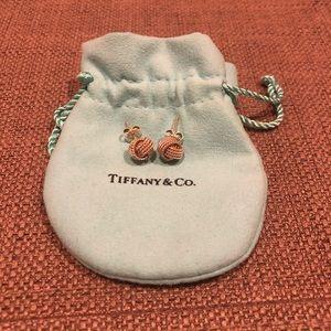 Tiffany & Co twist knot earrings